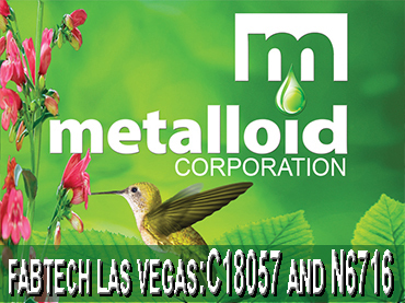 Metalloid Fabtech 2016: Booths C18057 and N6716