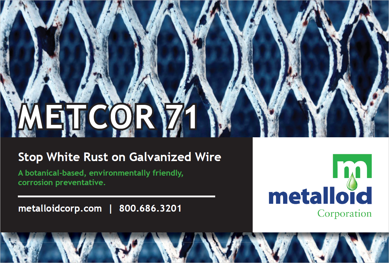 METCOR 71 - October 2018 - Wire Journal - Metalloid ...  Metalloid